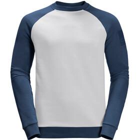 Jack Wolfskin 365 T-shirt Col ras-du-cou Homme, grey haze